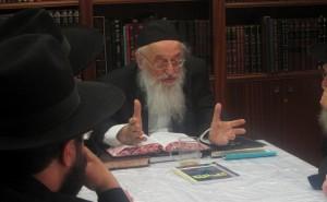 הגאון הגדול רבי מאיר צבי ברגמן שליט''א