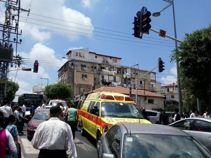 צעירה נפגעה בתאונה של אופנוע (19)