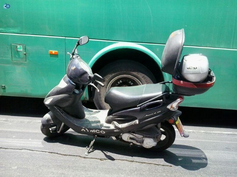 צעירה נפגעה בתאונה של אופנוע (20)