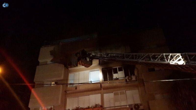 שריפה  רמת גן (11)