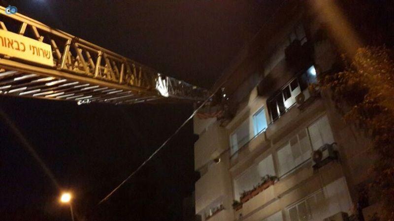 שריפה  רמת גן (14)