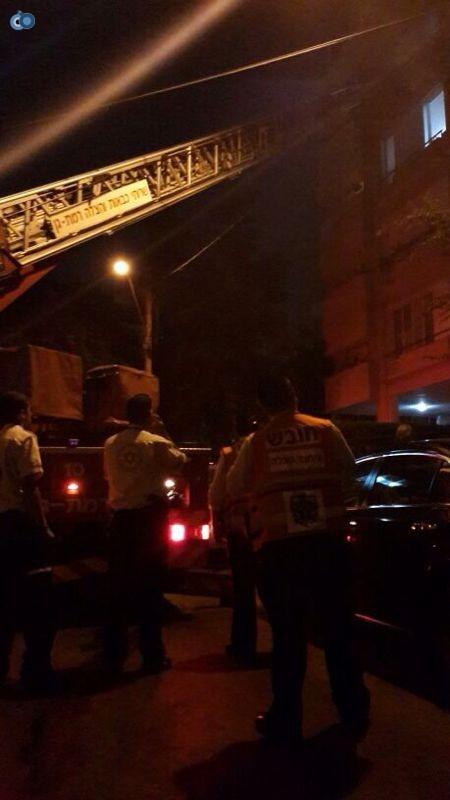 שריפה  רמת גן (16)