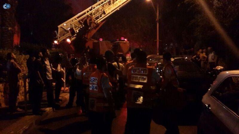 שריפה  רמת גן (17)