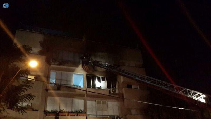 שריפה  רמת גן (18)