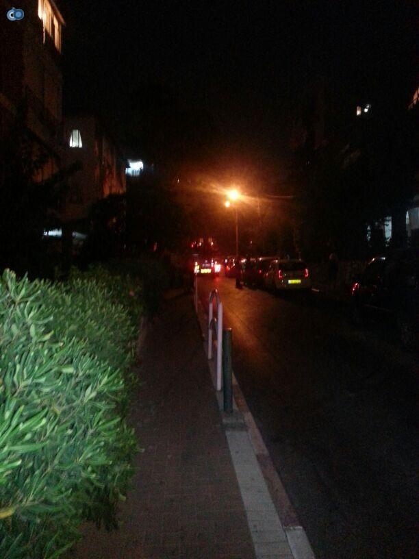 שריפה  רמת גן (2)