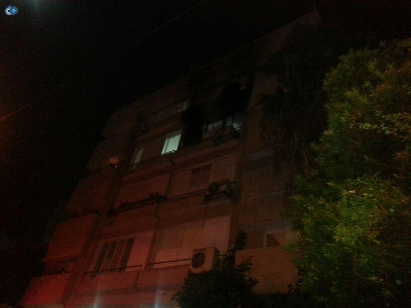 שריפה  רמת גן (4)