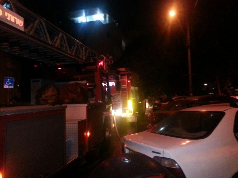 שריפה  רמת גן (5)