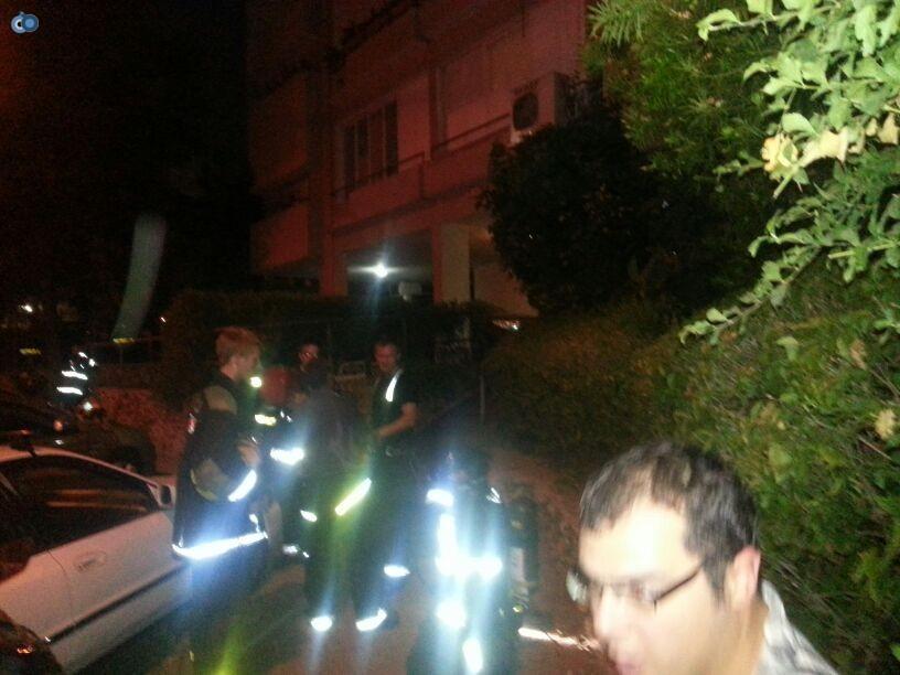 שריפה  רמת גן (7)