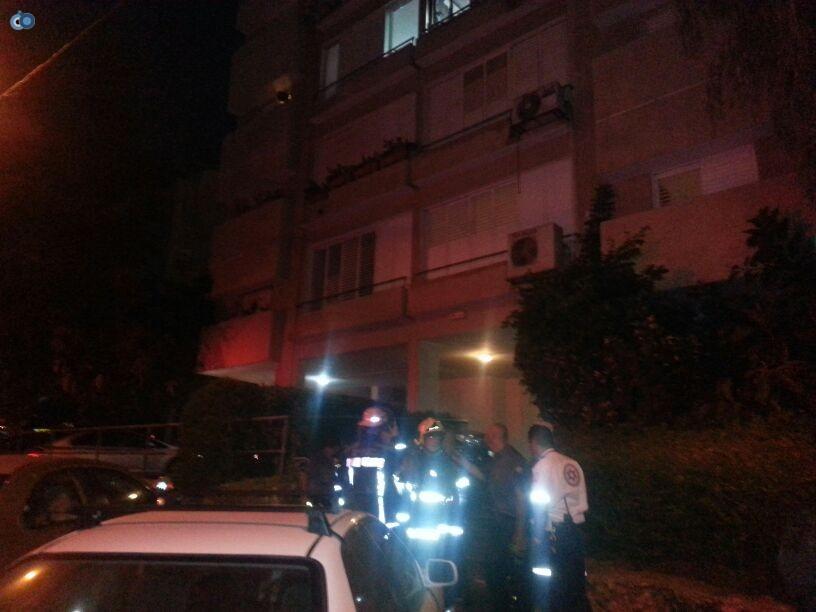שריפה  רמת גן (9)