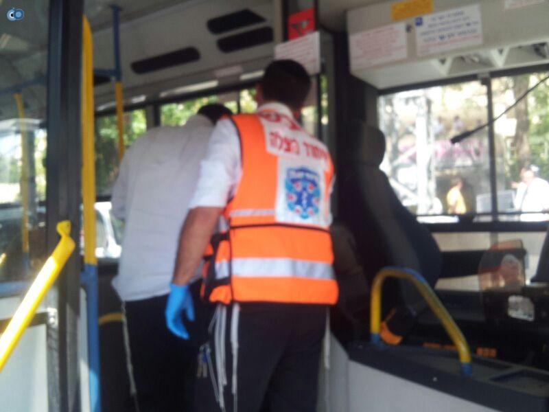 תאונה בבני ברק עם רכב אוטובוס אופנוע (4)