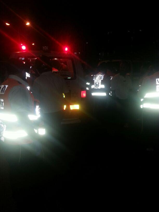 תאונה הצלה רכב פגע בחרדית (1)