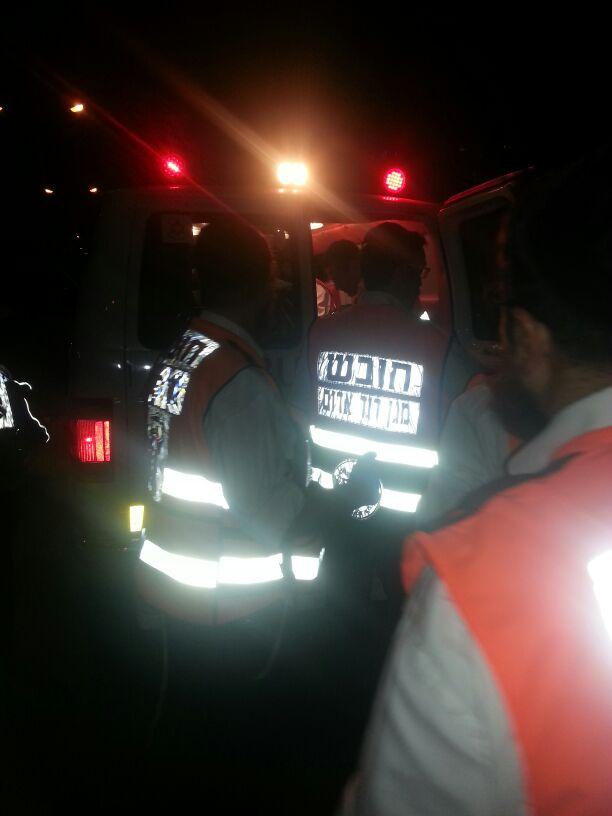 תאונה הצלה רכב פגע בחרדית (5)