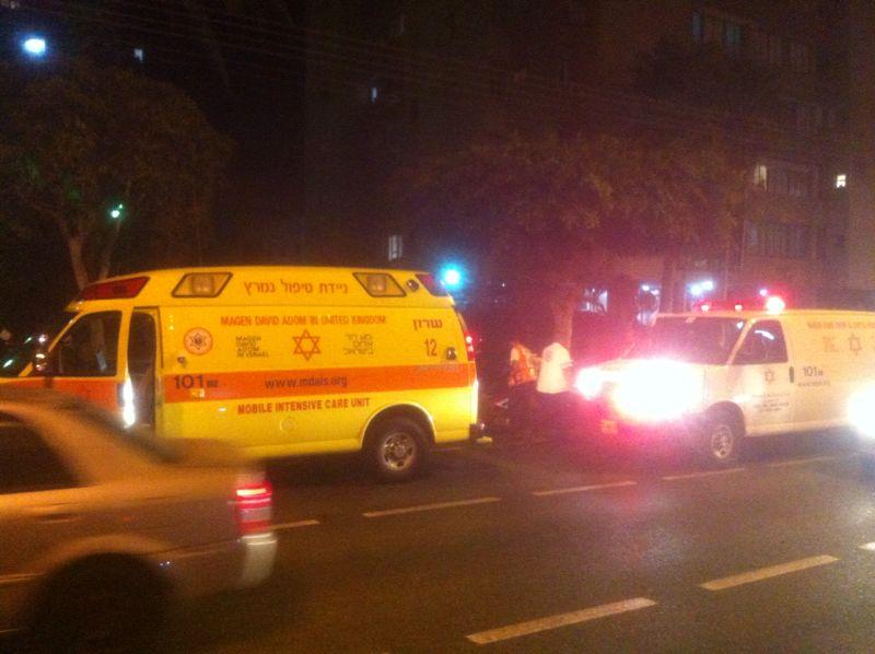 תאונה רוכבת אופניים נפגעה מרכב (20)