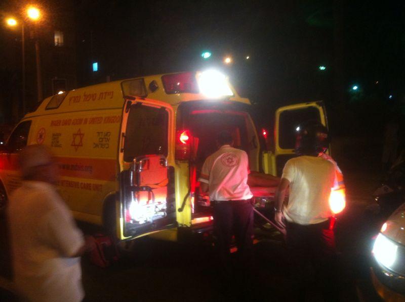 תאונה רוכבת אופניים נפגעה מרכב (8)