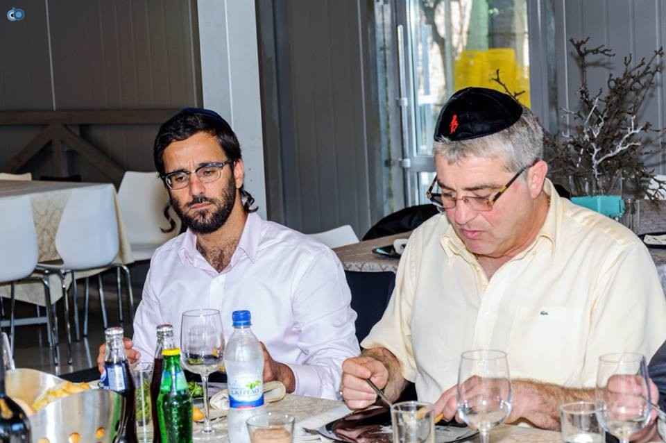 בפגישת היערכות עם שגריר ישראל באוקראינה