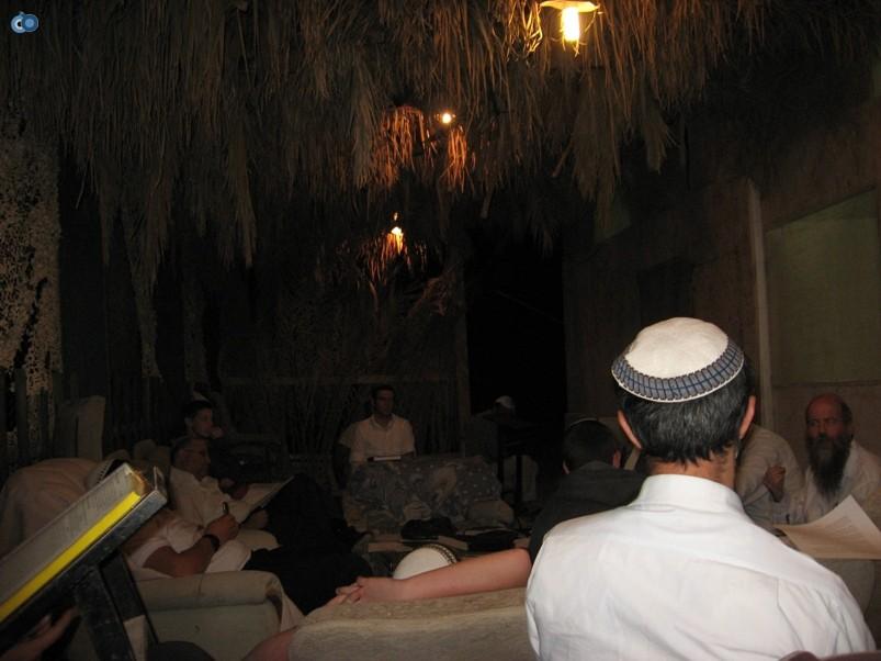 הרב אברהם בלאס בבית חגלה-3