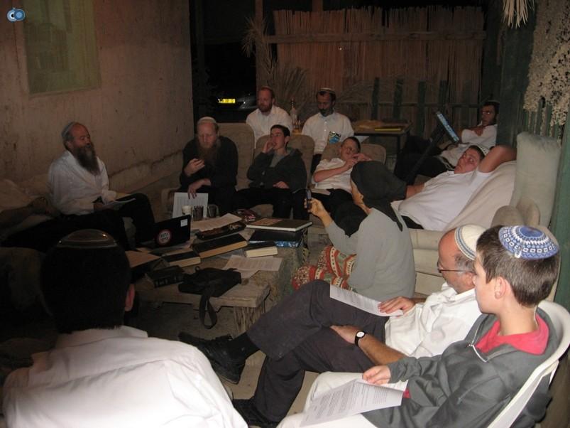 הרב אברהם בלאס בבית חגלה