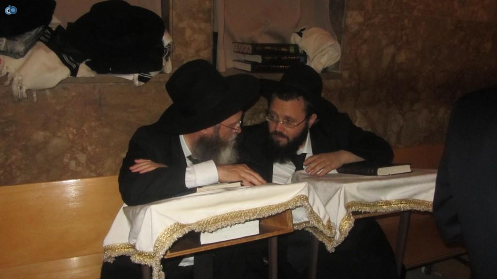 הרב זלזניק והרב הבלין
