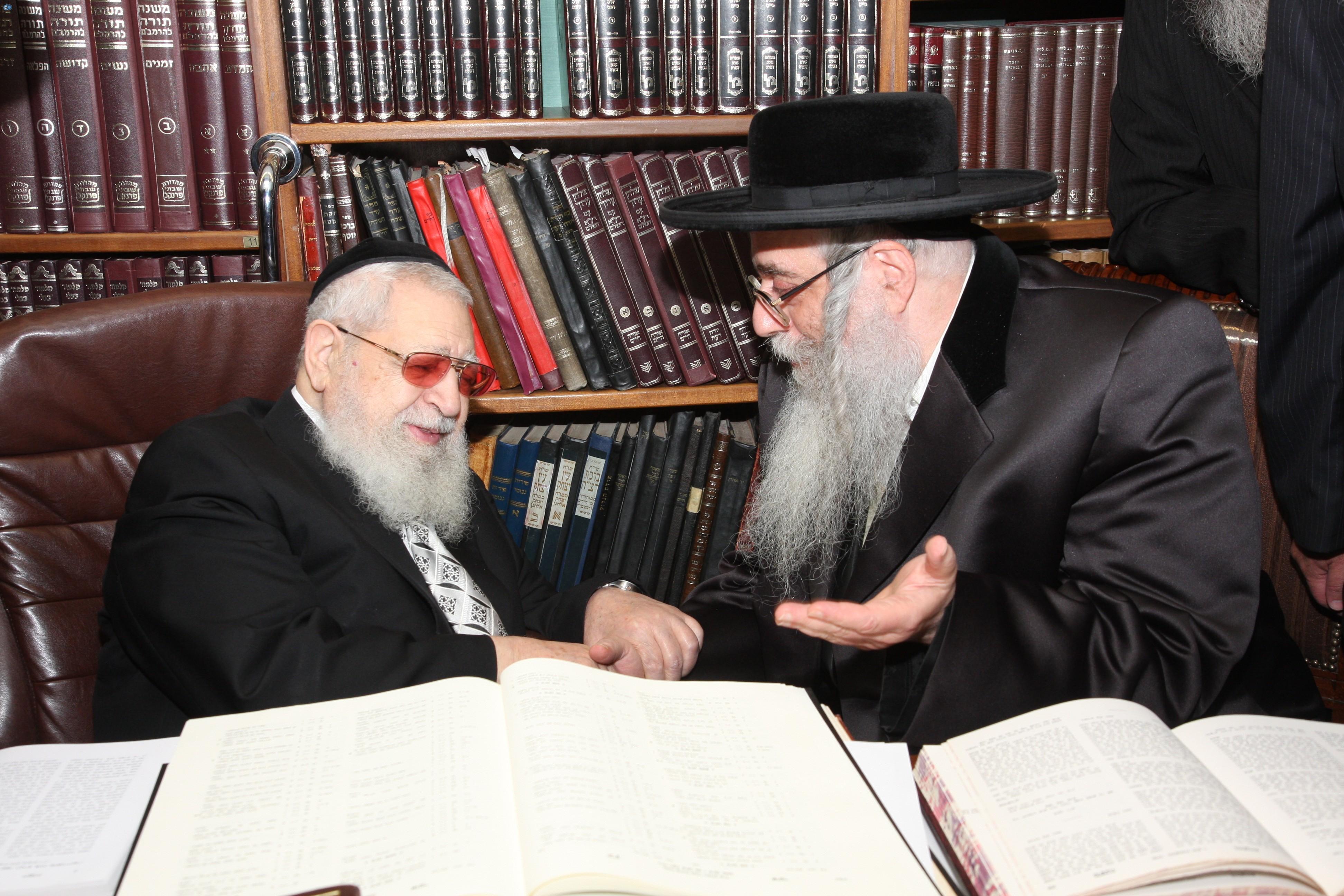 בביקור בבית הרב עובדיה יוסף - תש''ע (1)