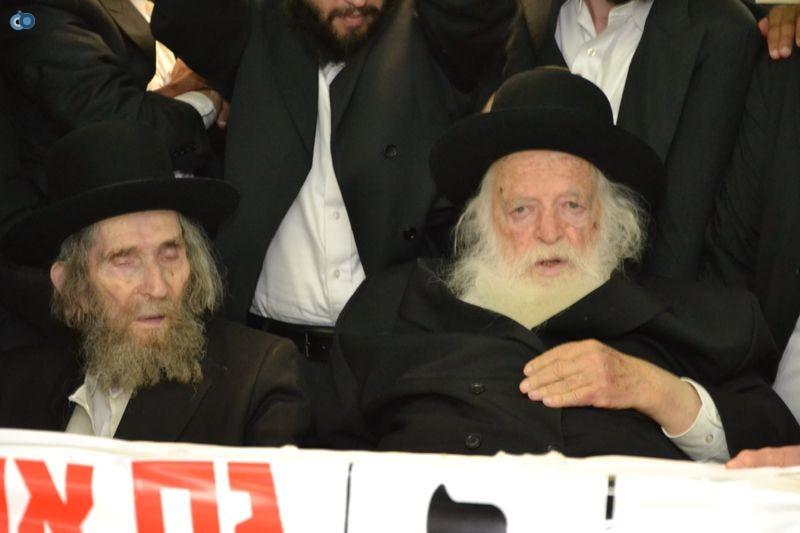 הגר''ח קניבסקי והגראי''ל שטינמן צילום אהרן והב (29)
