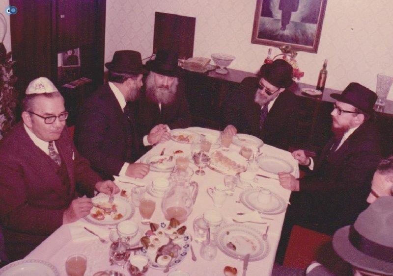 הרב עובדיה יוסף במליאנו שבאיטליה לפני 35 שנה (1)