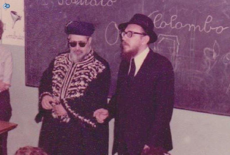 הרב עובדיה יוסף במליאנו שבאיטליה לפני 35 שנה (2)