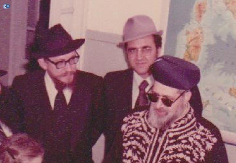 הרב עובדיה יוסף במליאנו שבאיטליה לפני 35 שנה (3)
