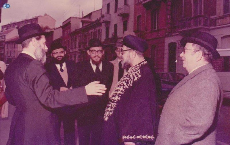 הרב עובדיה יוסף במליאנו שבאיטליה לפני 35 שנה (4)