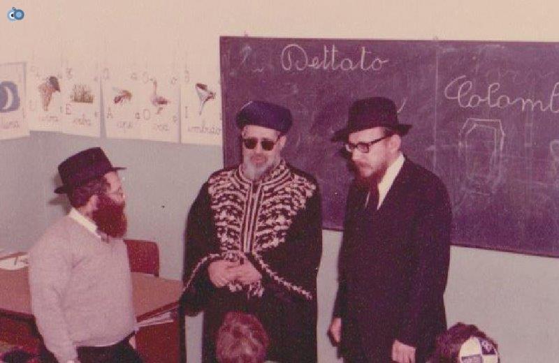 הרב עובדיה יוסף במליאנו שבאיטליה לפני 35 שנה (5)