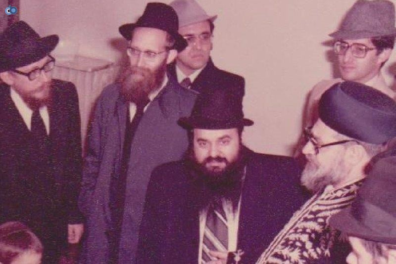 הרב עובדיה יוסף במליאנו שבאיטליה לפני 35 שנה (6)