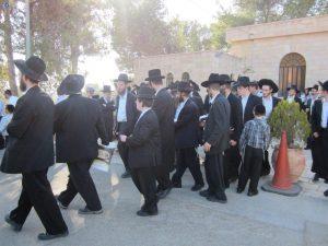 חרדה בעולם היהודי. הלווית משפחת טעדעסקא זל ב'ארץ החיים' בבית שמש (2)