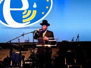 נשיא ועידת רבני אירופה הגרפ גולדשמידט בכינוס ארגוני הקרוב בצרפת (3)