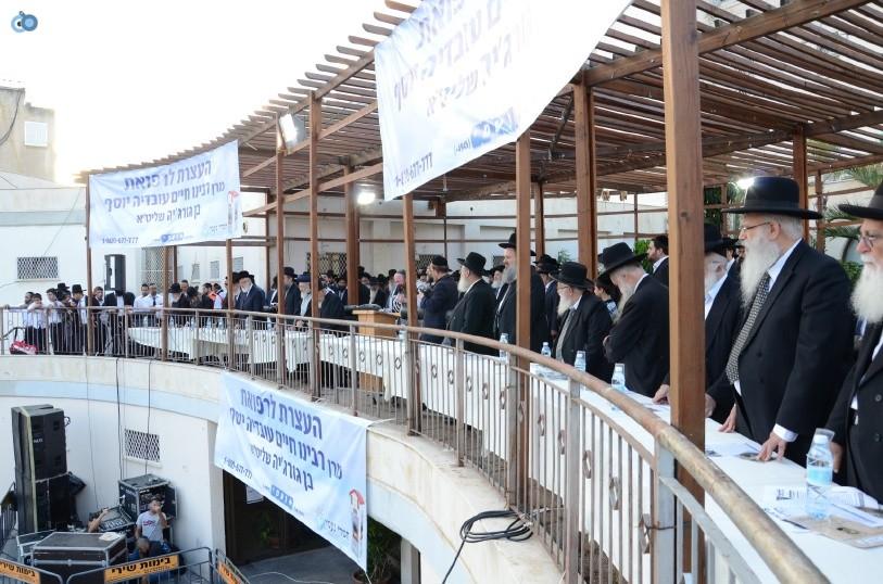 עצרת המונים ש''ס הרב יוסף יצחק (12)