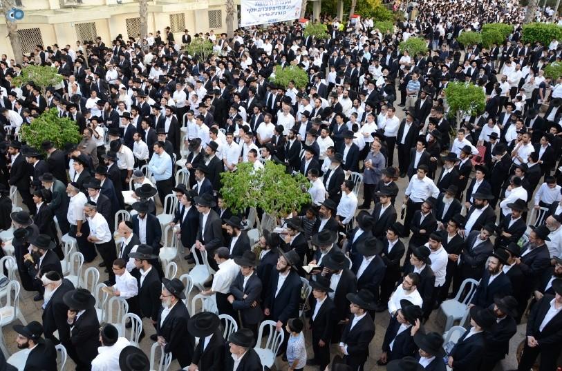 עצרת המונים ש''ס הרב יוסף יצחק (21)