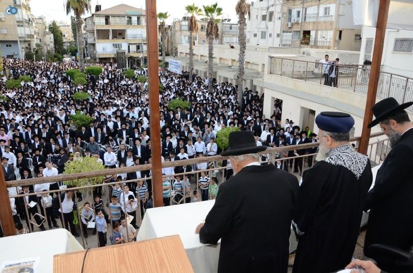 עצרת המונים ש''ס הרב יוסף יצחק (25)