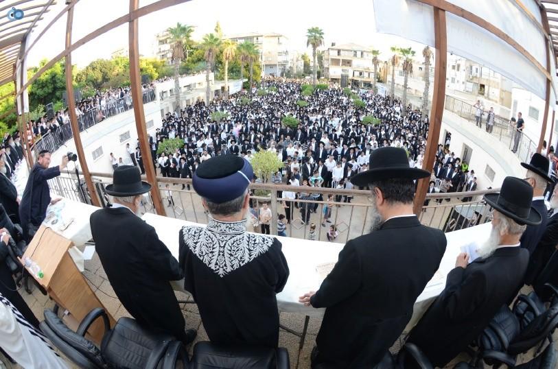 עצרת המונים ש''ס הרב יוסף יצחק (28)