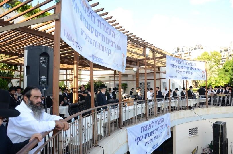 עצרת המונים ש''ס הרב יוסף יצחק (3)