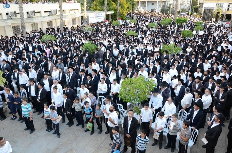 עצרת המונים ש''ס הרב יוסף יצחק (30)