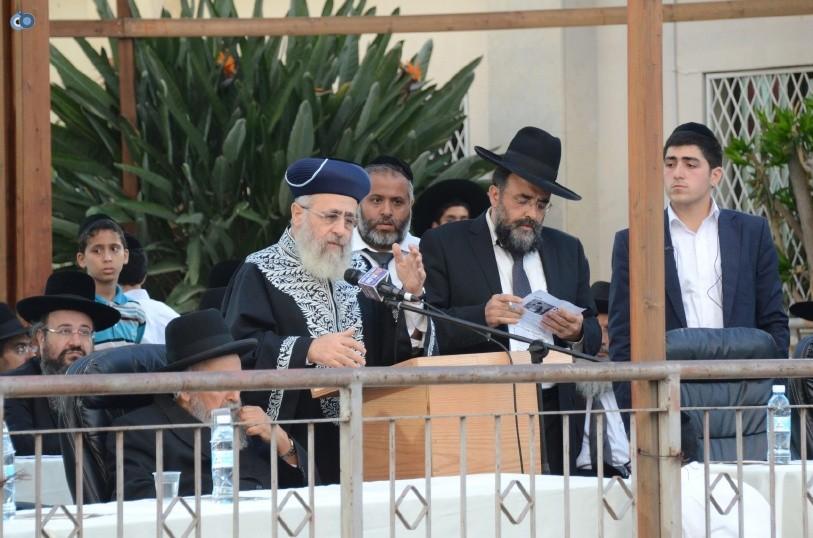 עצרת המונים ש''ס הרב יוסף יצחק (33)