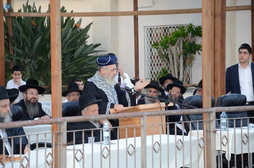 עצרת המונים ש''ס הרב יוסף יצחק (34)