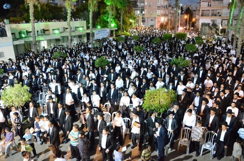עצרת המונים ש''ס הרב יוסף יצחק (50)