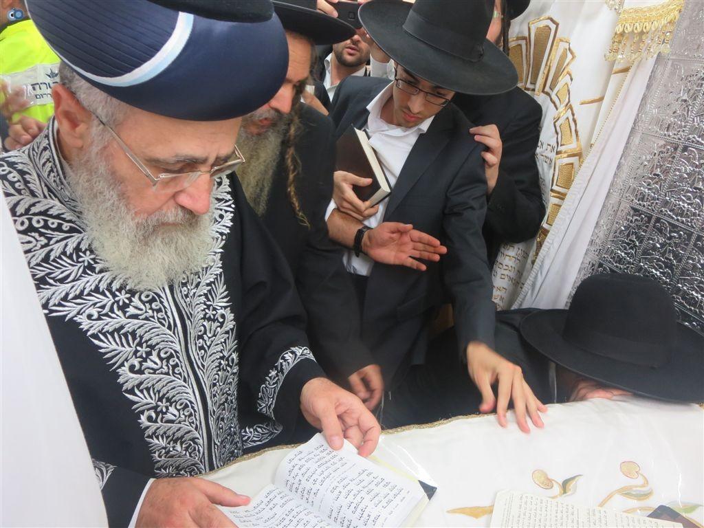 ציון שמעון הצדיק רבי יצחק יוסף הרב שלום ארוש (7)
