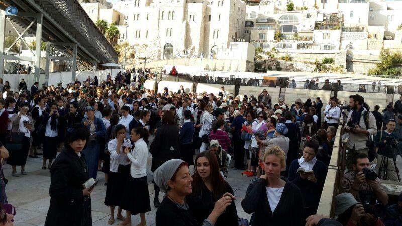 נשות הכותל צילום ישראל קרליץ חדשות 24 (10)