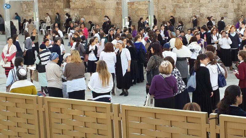 נשות הכותל צילום ישראל קרליץ חדשות 24 (16)