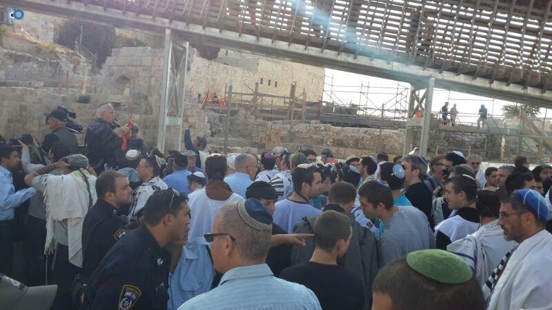 נשות הכותל צילם ישראל קרליץ חדשות 24 (1)