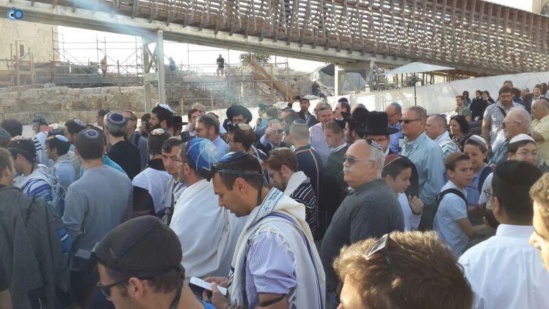 נשות הכותל צילם ישראל קרליץ חדשות 24 (2)