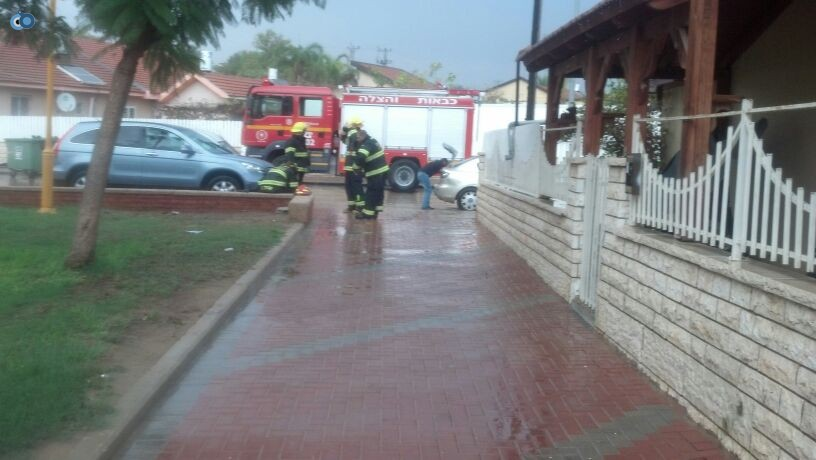 פצוע גשמים צילם חדשות 24 (2)