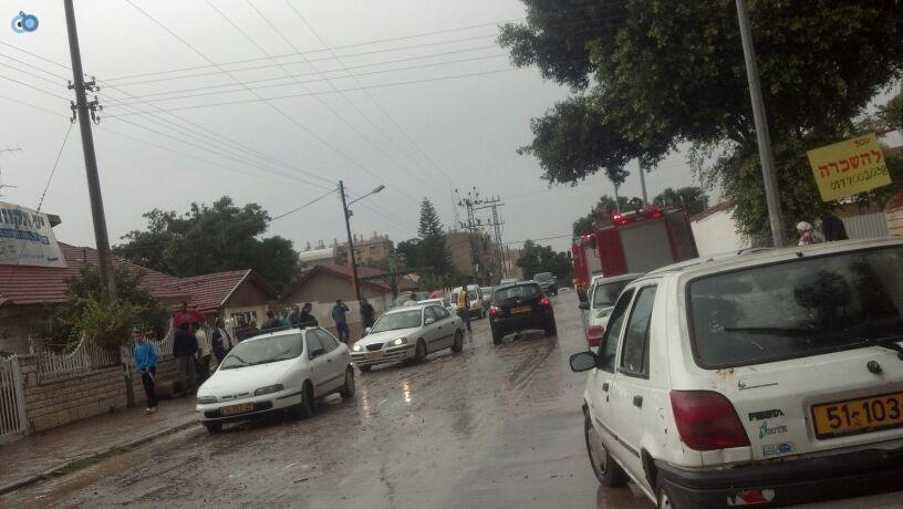 פצוע גשמים צילם חדשות 24 (6)
