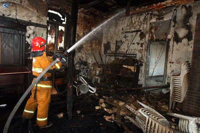שריפה הרס בלרוס בית כנסת (21)