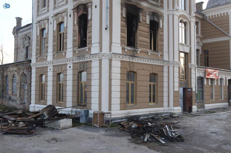 שריפה הרס בלרוס בית כנסת (3)
